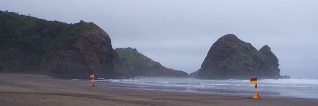 Black Sand of Piha, North Island, NZ: f/4; 1/750sec