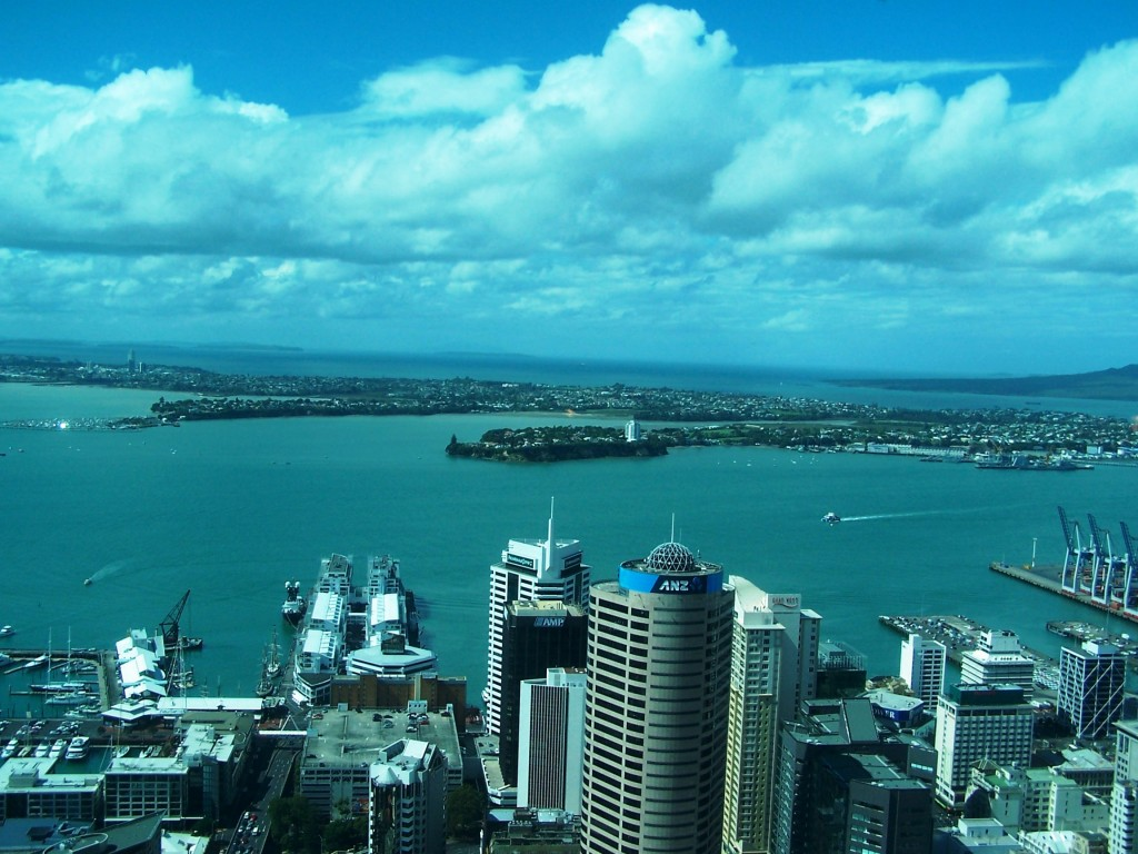 Land of the Long White Cloud: New Zealand - Auckland Harbour: f/4; 1/750sec