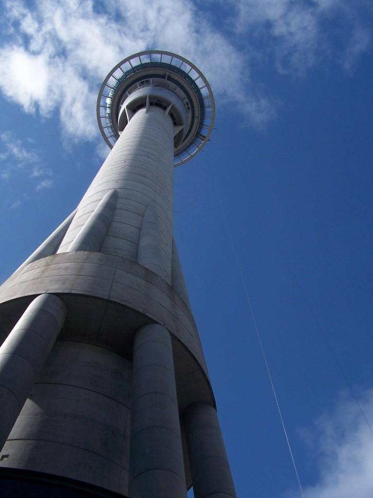 Sky Tower, Auckland, New Zealand: f/5.6; 1/500sec
