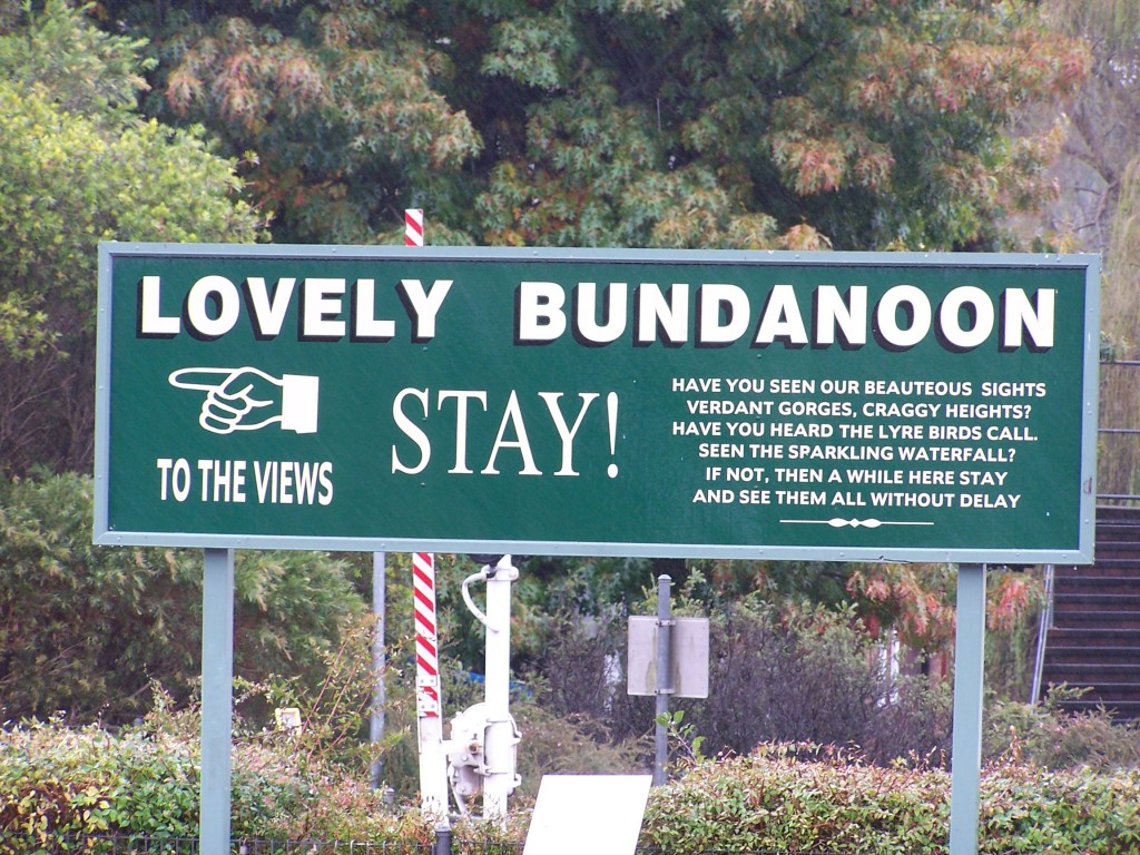 A Very Bundanoon Welcome