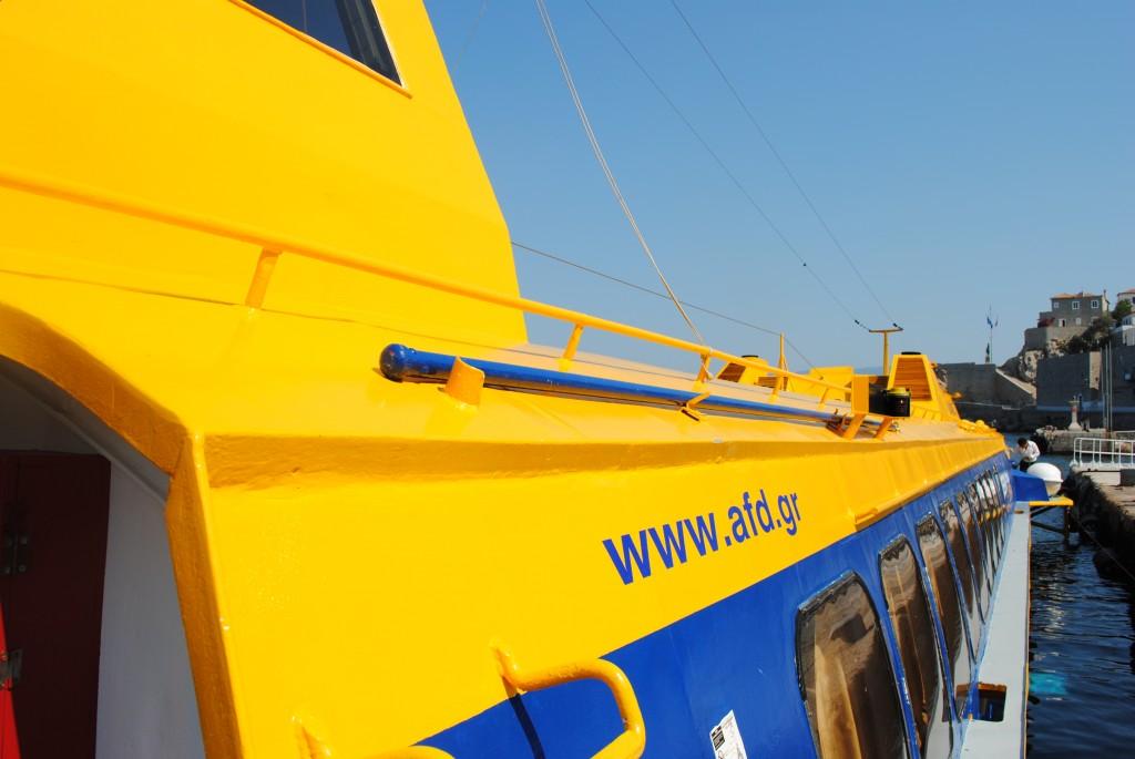 Ferry from Porto Heli to Hydra: f/9; 1/320sec; ISO-100