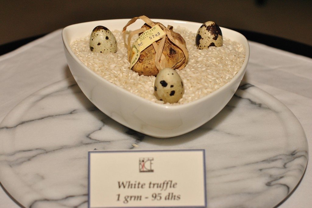 White Truffle by the Gram: f/5; 1/60sec; ISO-400