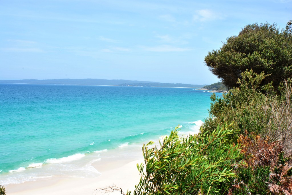 Collingwood beach overlooking HMAS Cresswell at Jervis Bay Territory: f/14; 1/60sec; ISO-100