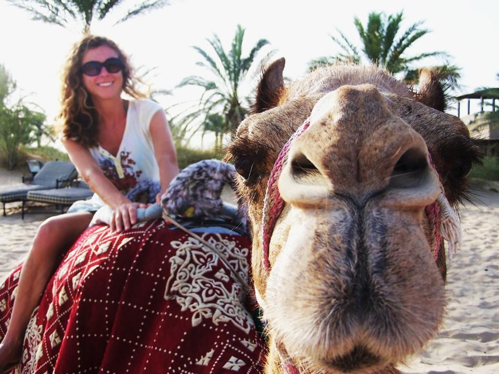 Mouna my beautifully-lashed She-Camel: f/2.8; 1/500sec