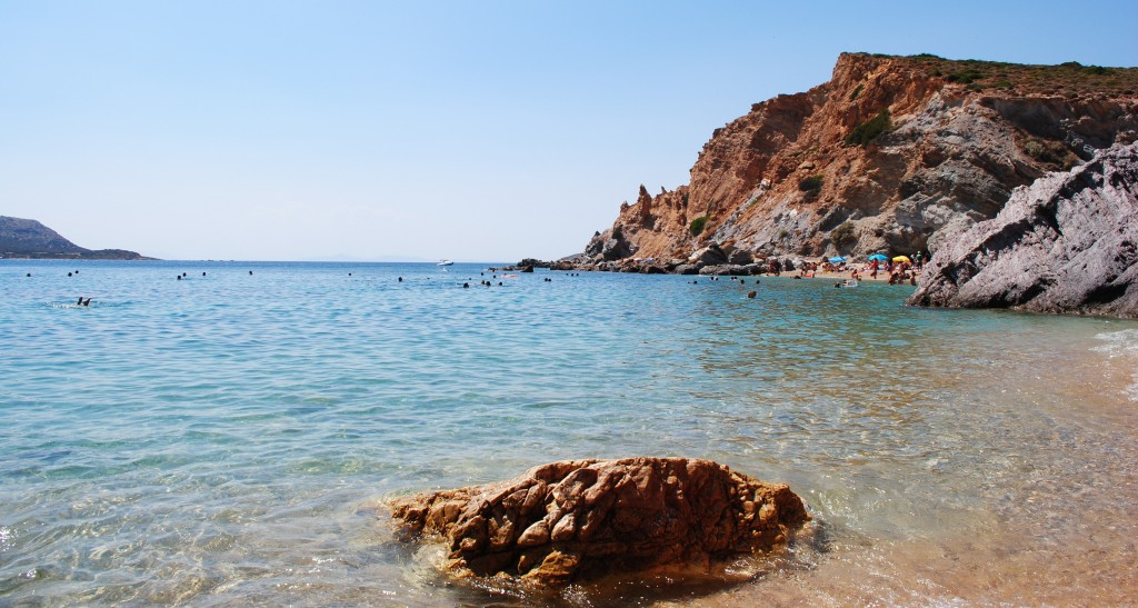 Aegean Waters of Haraka Beach, Apollo Coast, Greece: f/10; 1/250sec; ISO-110