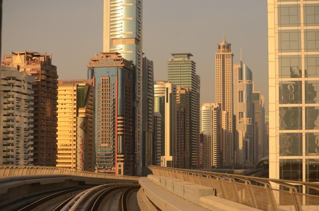 "Dubai Metro on 26th January ""Australia Day"": f/5.6; 1/6400sec; ISO-1600"
