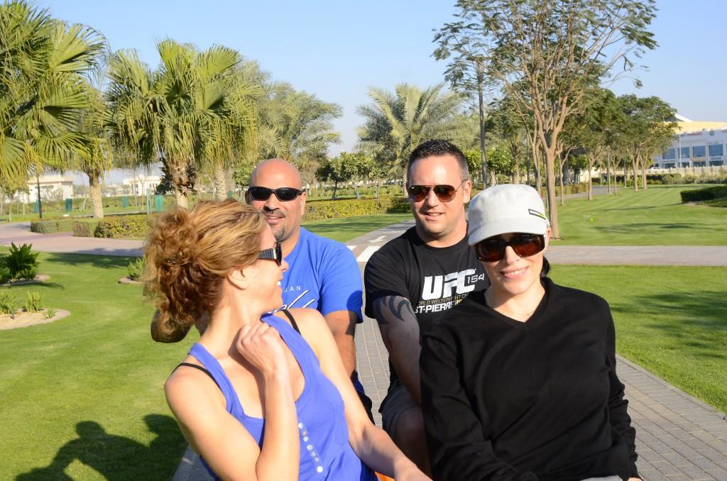 Barsha Park, Dubai Cycling Around