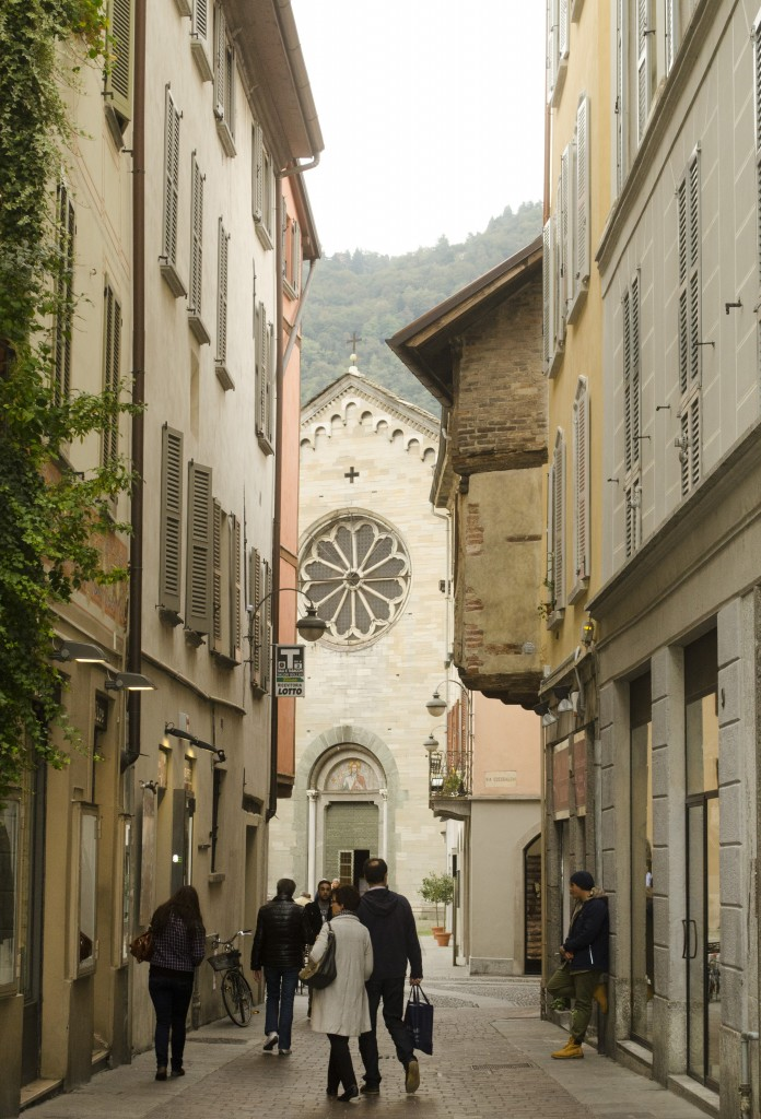 Within the walled city of Como lies San Fedele dating from 1120