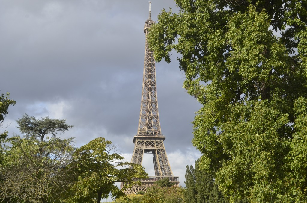 La Tour Eiffel located on the Champ de Mars, Paris