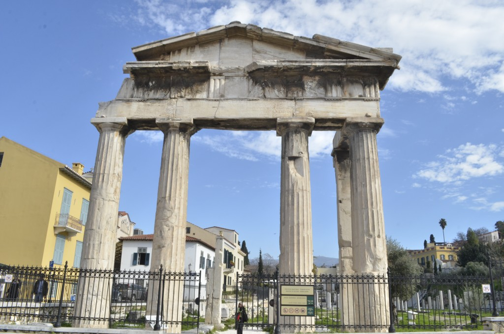 Emperor Hadrian's legacy in Athens