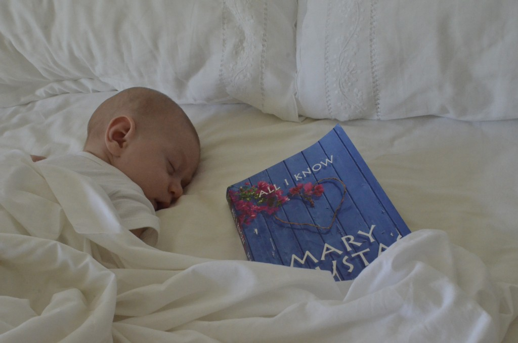 At 2 months of age Kingsley finds himself in hot, steamy Bangalow, while his mum reads