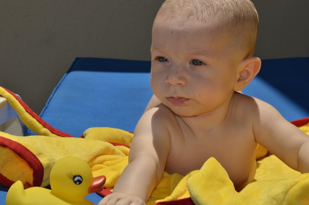 First Swim 075