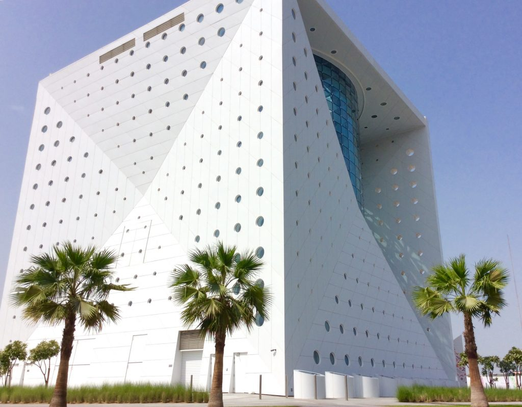 The 'cube' at CityWalk wherein lies The Green Planet